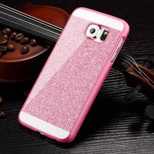 Luxury Shinning Glitter Bling Back Cover Case for Samsung Galaxy S5 S6 S7 Edge S8 S8Plus A3 A5 A7 2015/2016/2017 Phone Cases