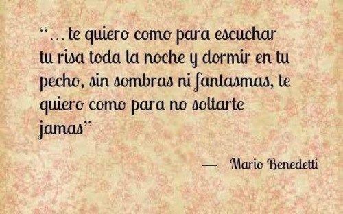 Poemas De Amor De Mario Benedetti Para San Valentin Verbena