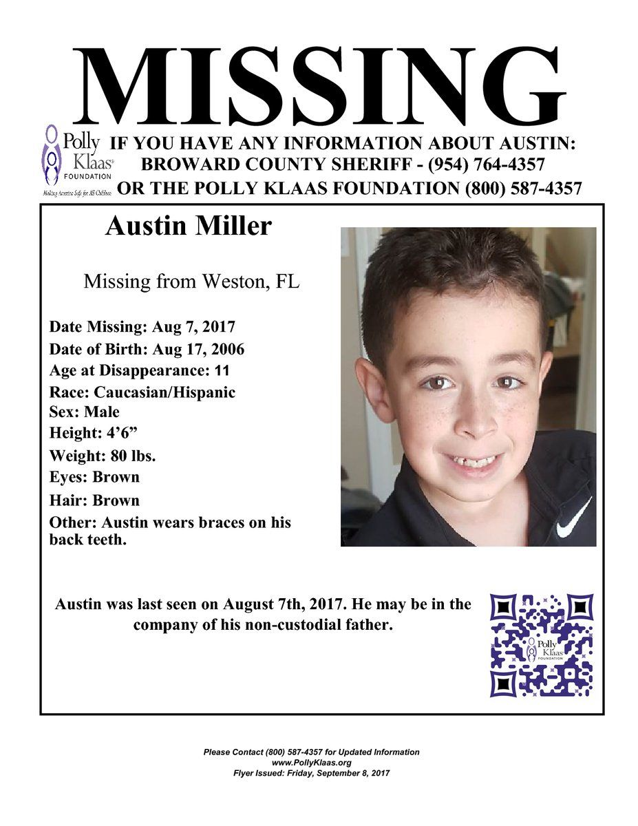 This child has been missing since Aug 2017. https