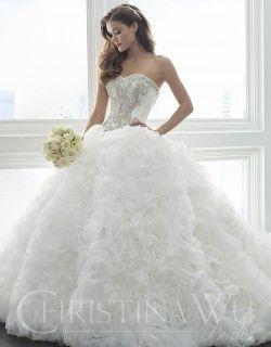 Christina Wu Brides, timeless and fashion forward bridal gowns at ...