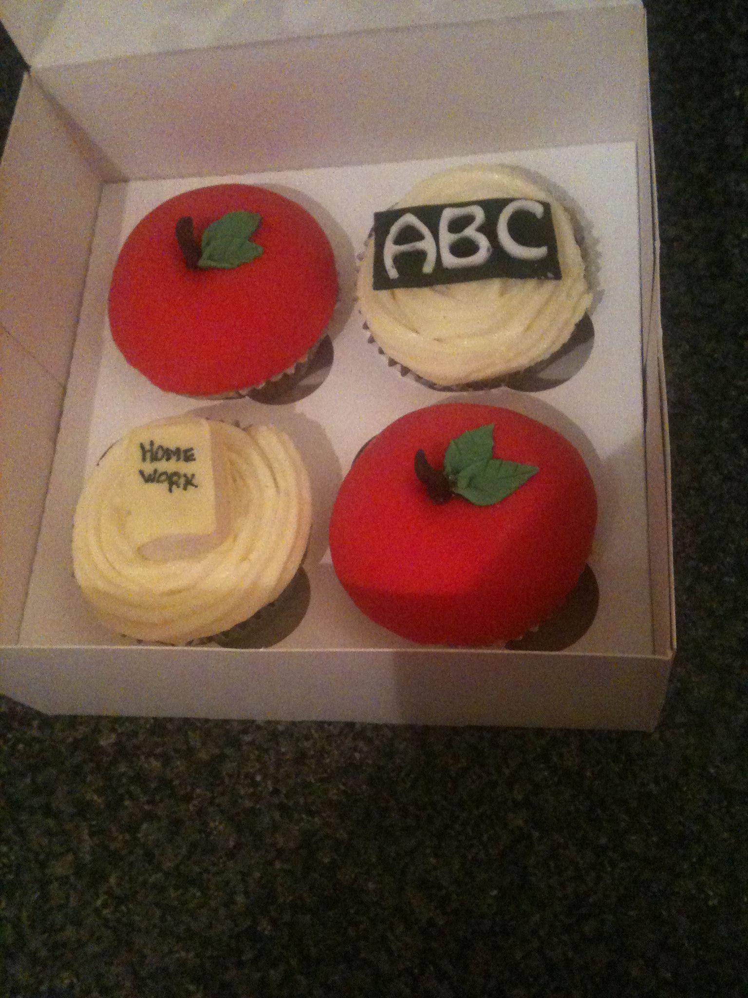 Cupcakes for teachers