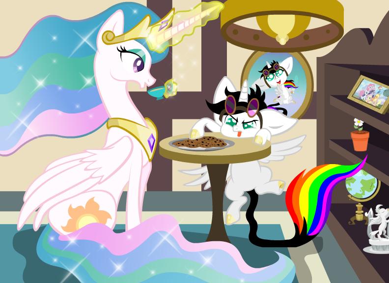 Tea Time With Celestia My Little Pony Wallpaper Mlp My Little Pony My Little Pony Friendship