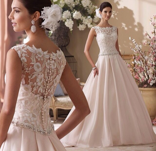 Genial Are You The Lucky Brides In David Tutera Wedding Dresses?