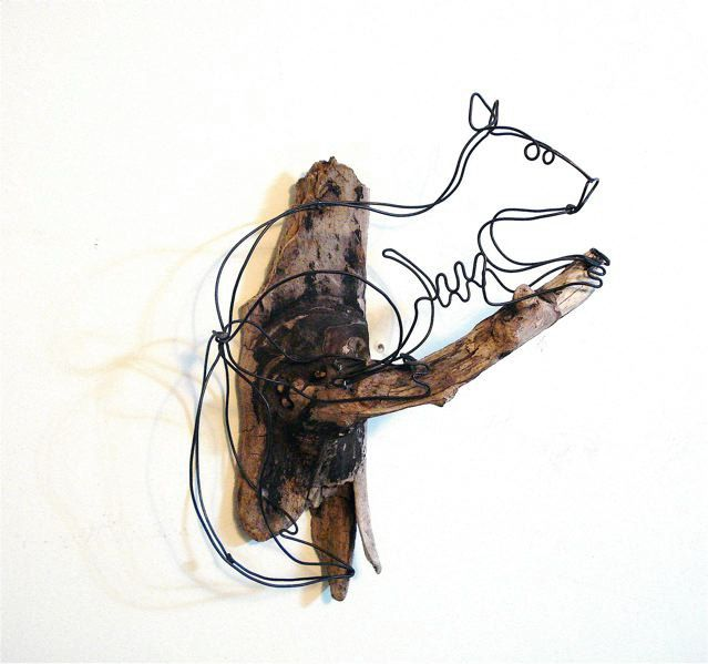 Squirrel Wire Sculpture | 3Doodler Inspiration | Pinterest ...