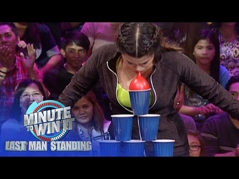 Balloon Pyramid Challenge Minute To Win It Last Man Standing