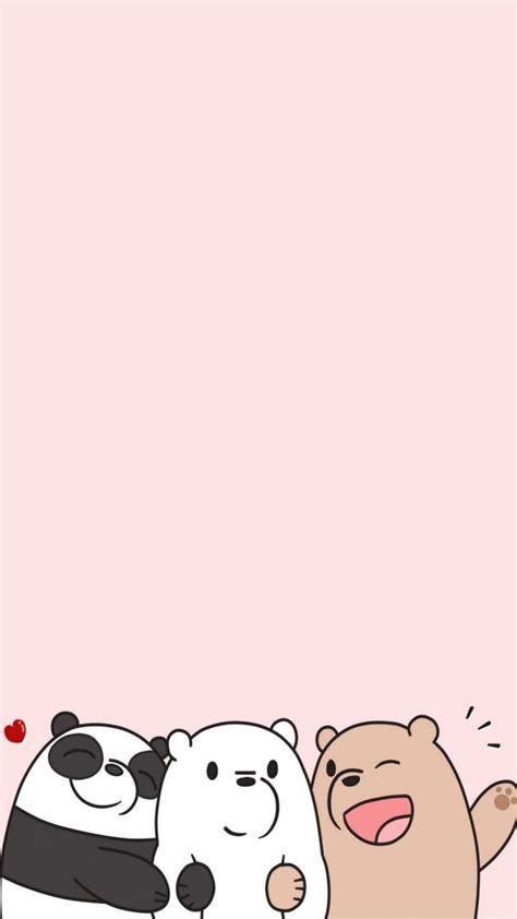 Cute Wallpapers ♡ | Cute Panda Wallpaper, Bear Wallpaper