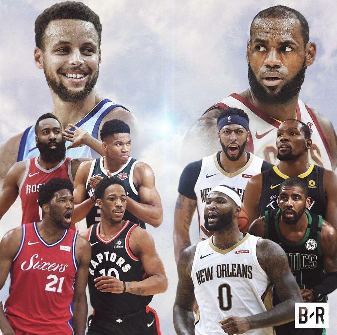 0ac5d9c72691 NBA all-star 2018 Team Lebron vs. Team Curry! Who ya got