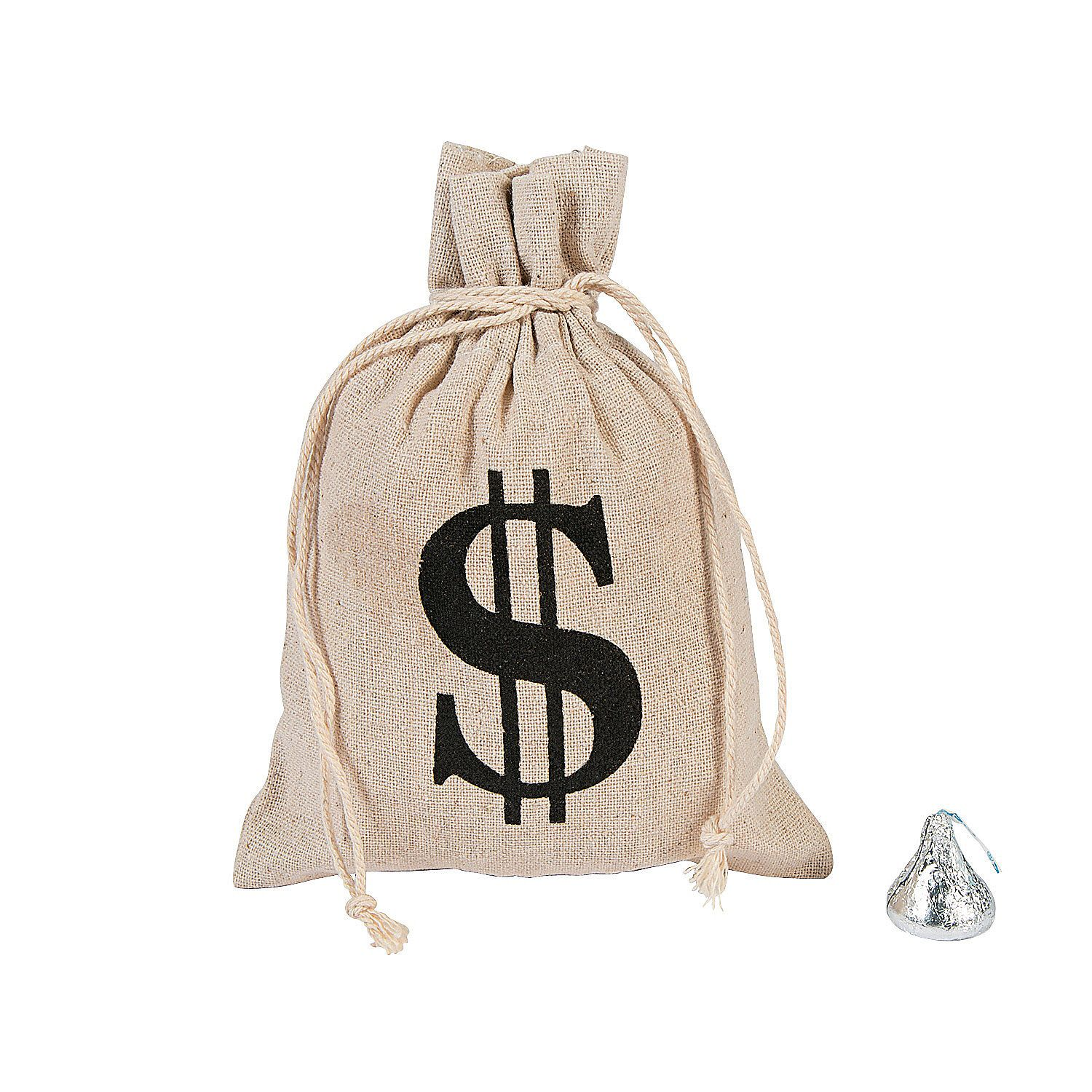 Pirates Loot Bag Filled With Coins And Jewellery Halloween Fancy Dress Prop