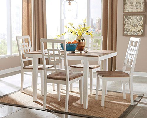 Ashley Brovada D298225 Rectangle Dining Room Table Set With 48