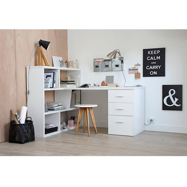 bureau biblioth que r versible f non pinterest bureau biblioth que cloisons et the office. Black Bedroom Furniture Sets. Home Design Ideas
