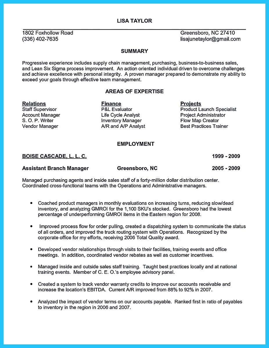 Cool Worth Writing Assistant Buyer Resume To Make You Get The Job