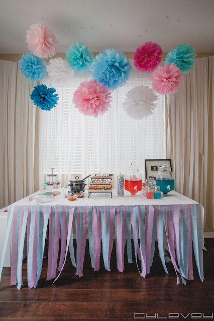 Gender Reveal Baby Shower Ideas Gender Reveal Decorations Gender Reveal Party Decorations Baby Reveal Party