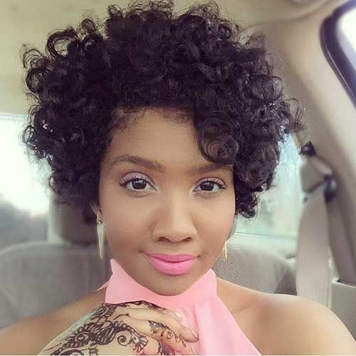 Nice Short Curly Weave Styles