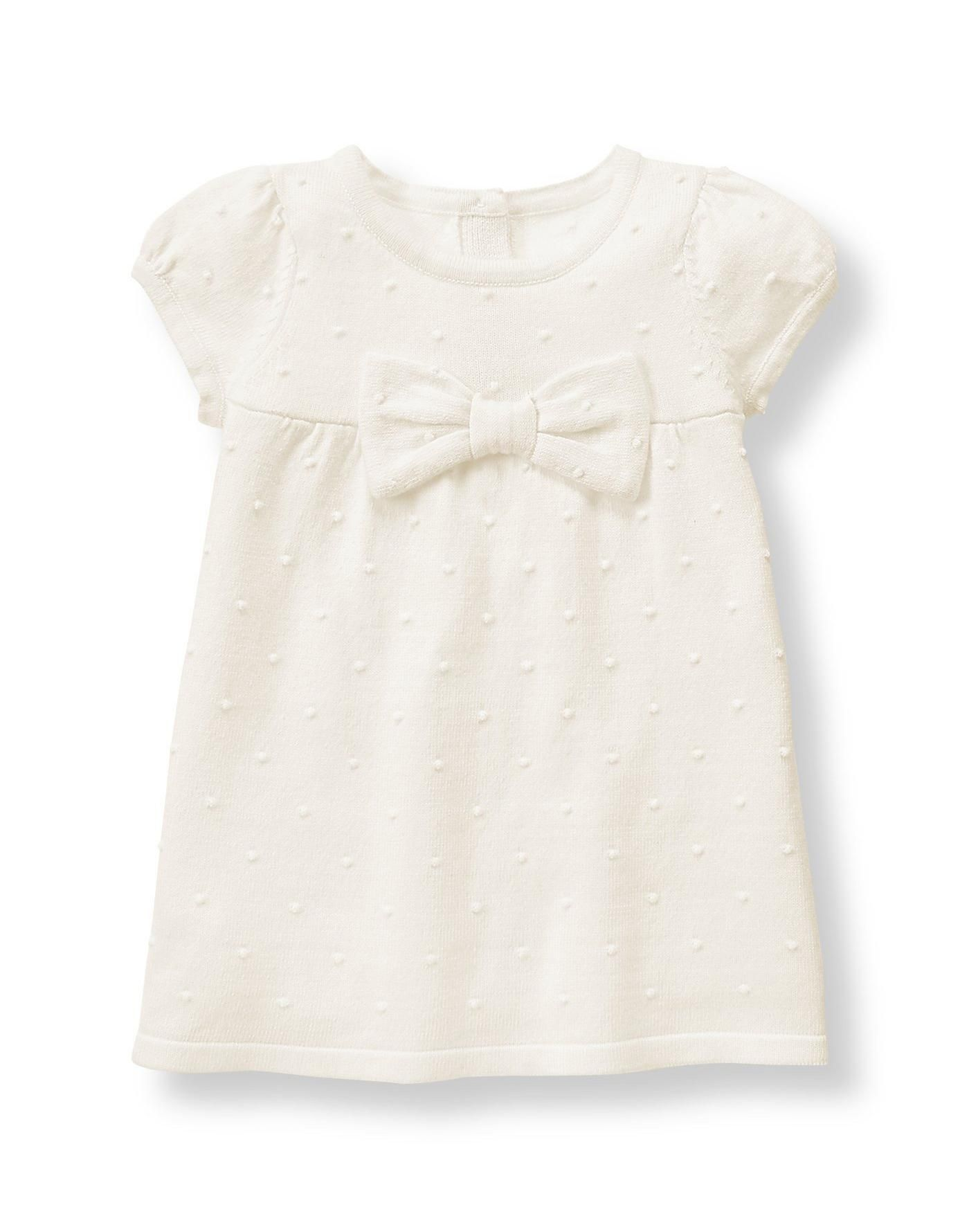 Janie And Jack Embroidered Smocked Dress Playwear
