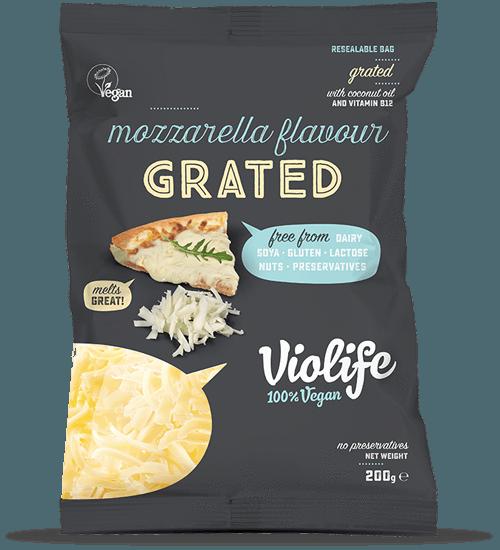 Cheeses Violife Grated Cheese Various 200g Vegan Mozzarella Violife Vegan Parmesan Cheese
