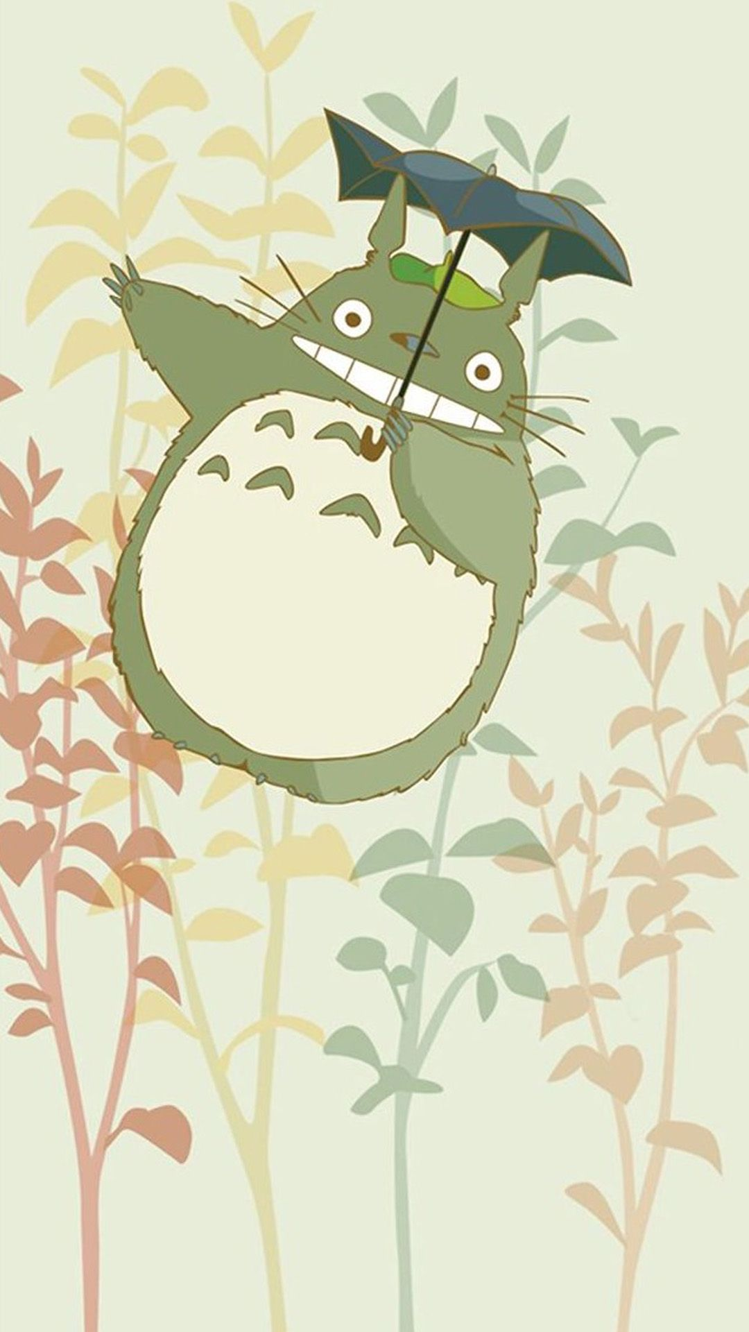 Cute My Neighbor Totoro iPhone 6 wallpaper Totoro art