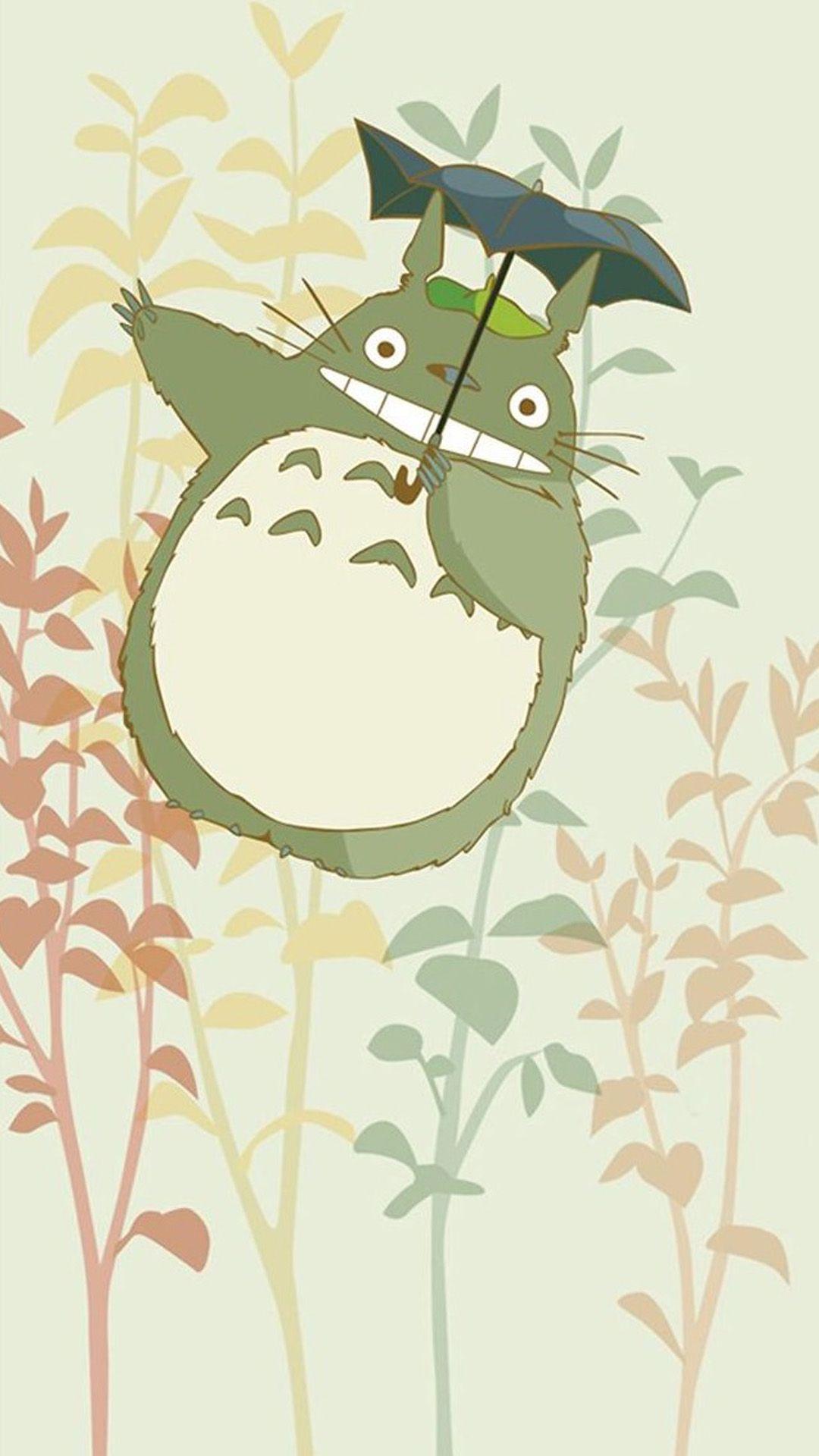 Cute My Neighbor Totoro iPhone 6 wallpaper | Wallpaper ...
