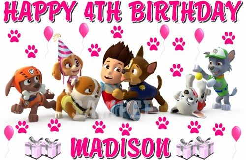 Top Download Paw Patrol Birthday Wallpapers