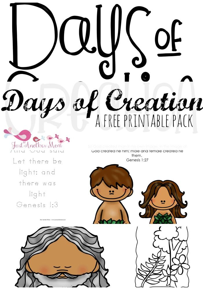FREE Days Of Creation Pack