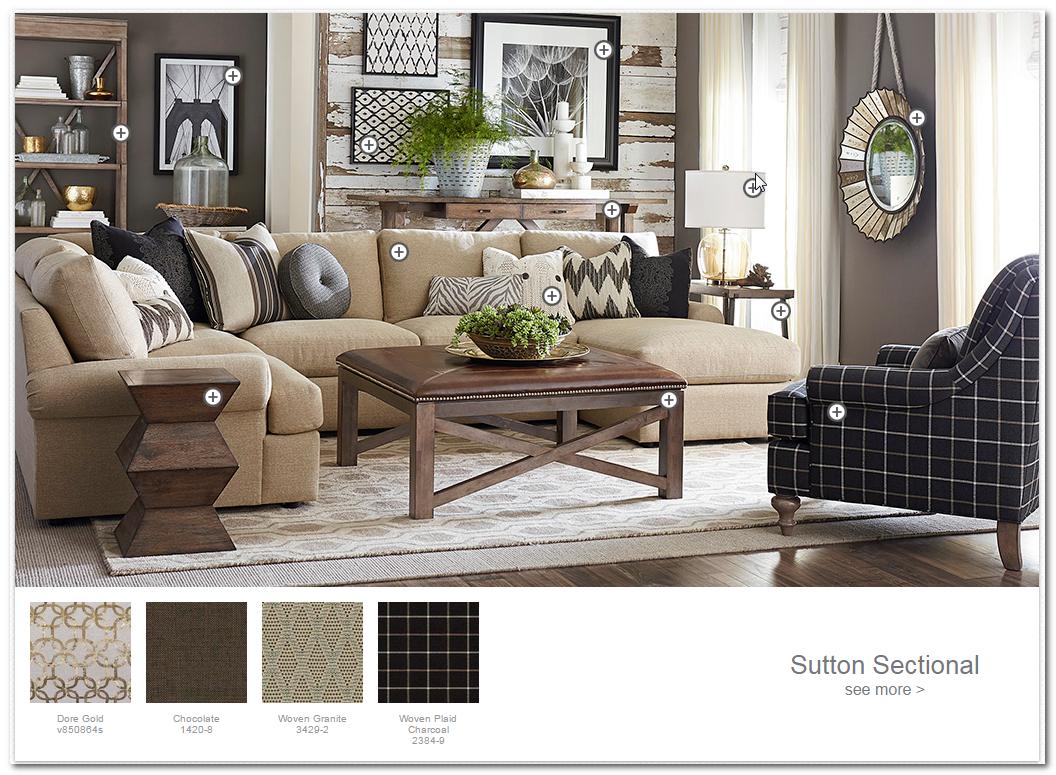 Basset Furniture  Home living room, Living room designs, Home