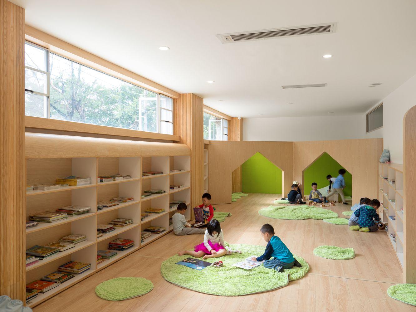 Gallery Of Lion International Kindergarten Vmdpe 15 Modern Kids Room Design Modern Kids Room Kids Room Design