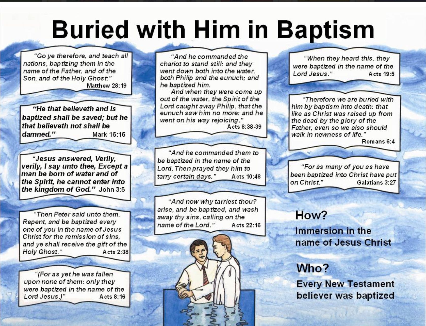hight resolution of baptism in the name of jesus christ for the remission of since acts 2 38 40