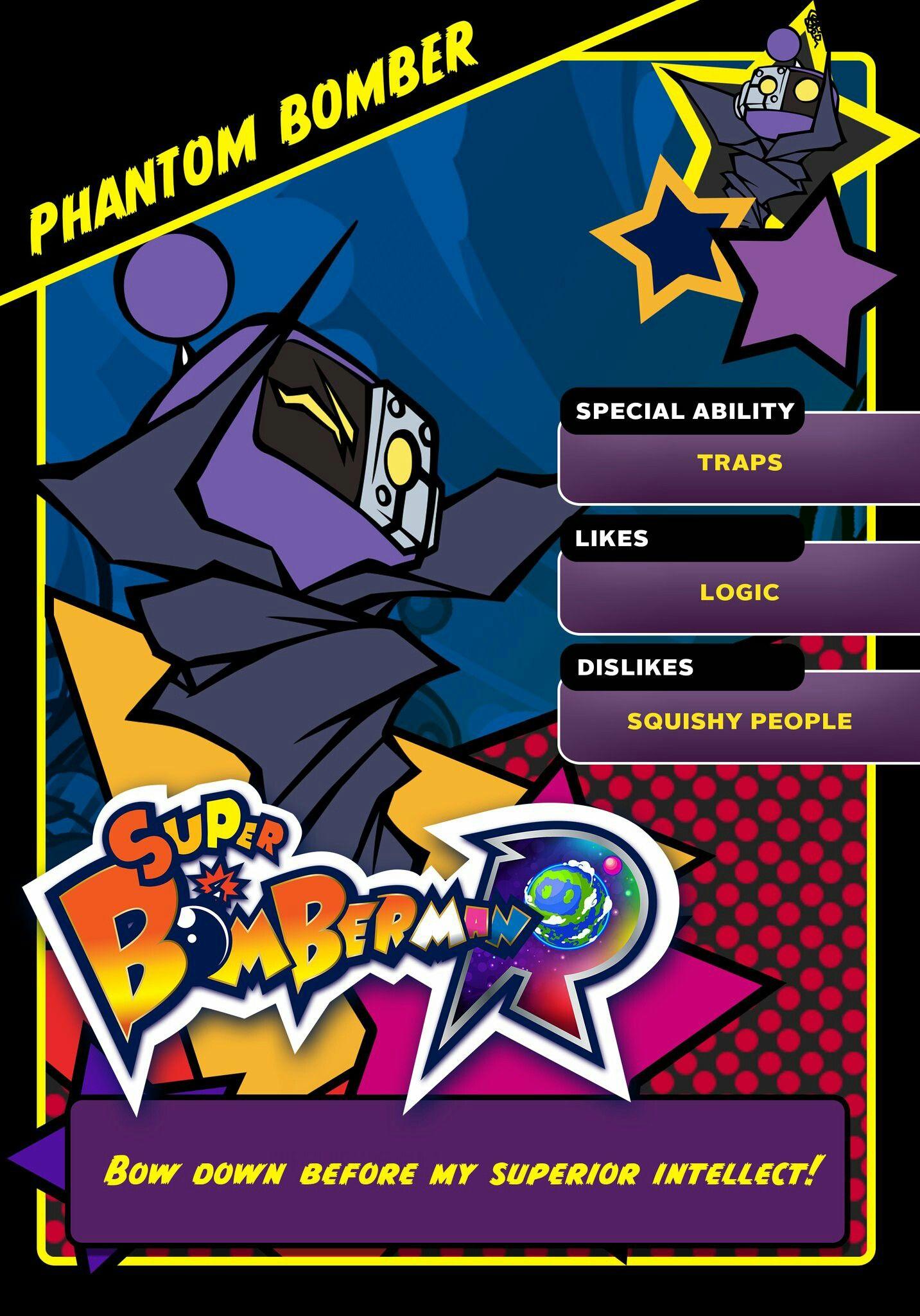Super Bomberman R Black Bomber: Super Bomberman R Phantom Bomber