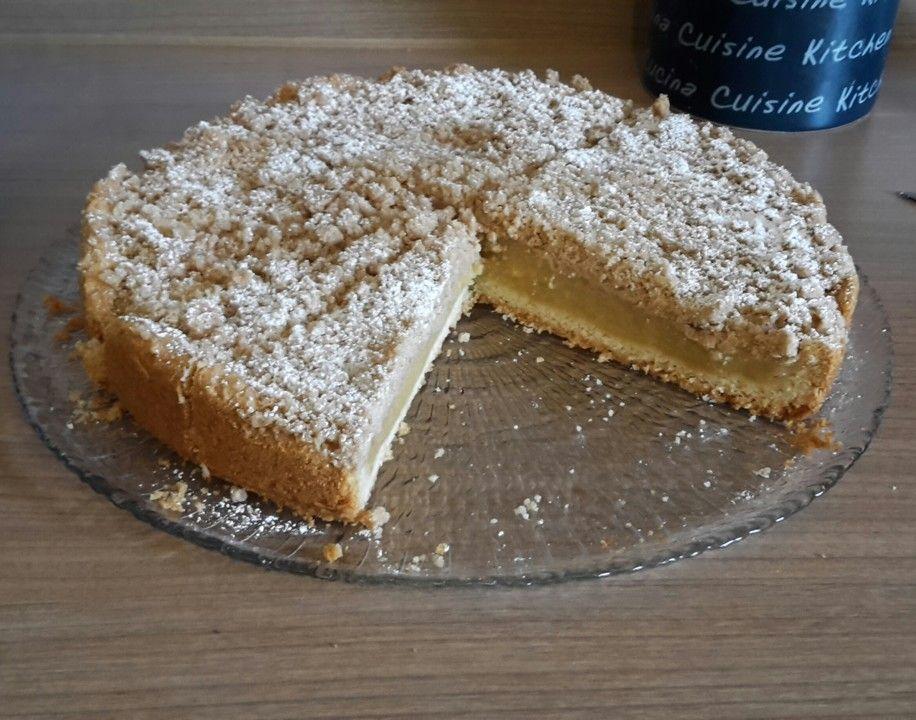Apfelmus Vanillepudding Kuchen Backen Vanillepudding Kuchen
