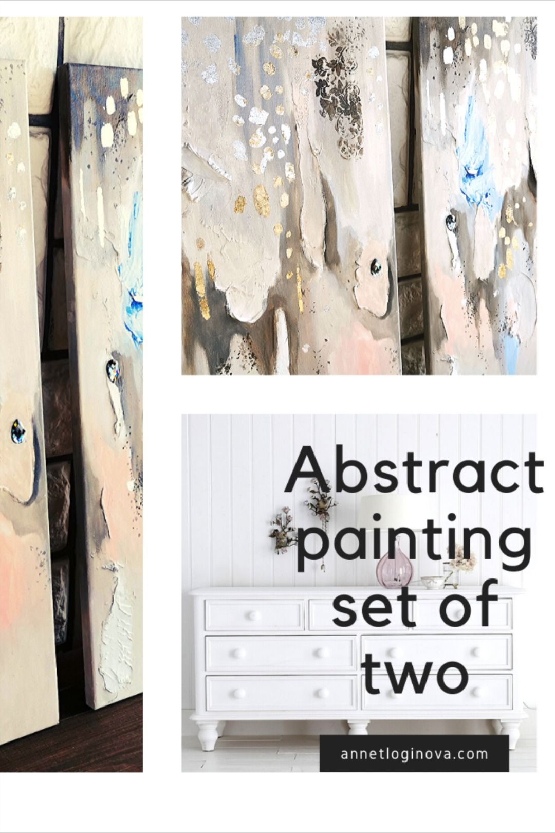 Gold Art 2 Piece Wall Art Original Abstract Painting Set Of 2 Wall Art Textured Paintings Abstract Wall Art In 2020 Abstract Wall Art Texture Painting Painting