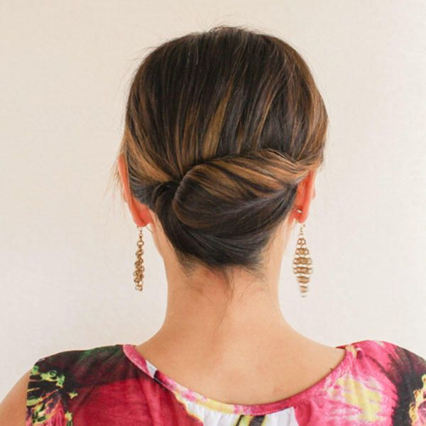 Our Favorite Prom Hairstyles For Medium Length Hair French Twists