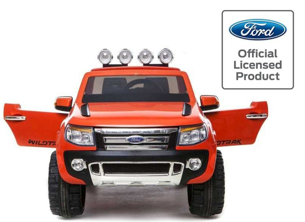 licensed ford ranger 12v kids electric ride on jeep orange http
