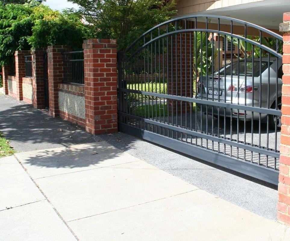 Aluminium driveway entrance gates Sunshine Coast, Brisbane and Gold ...