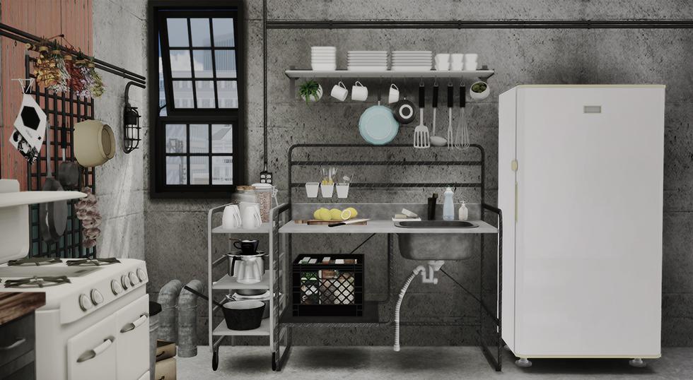 Marcussims91 sunnersta kitchen dreamteamsims sims 4 cc - Cucina sunnersta ...