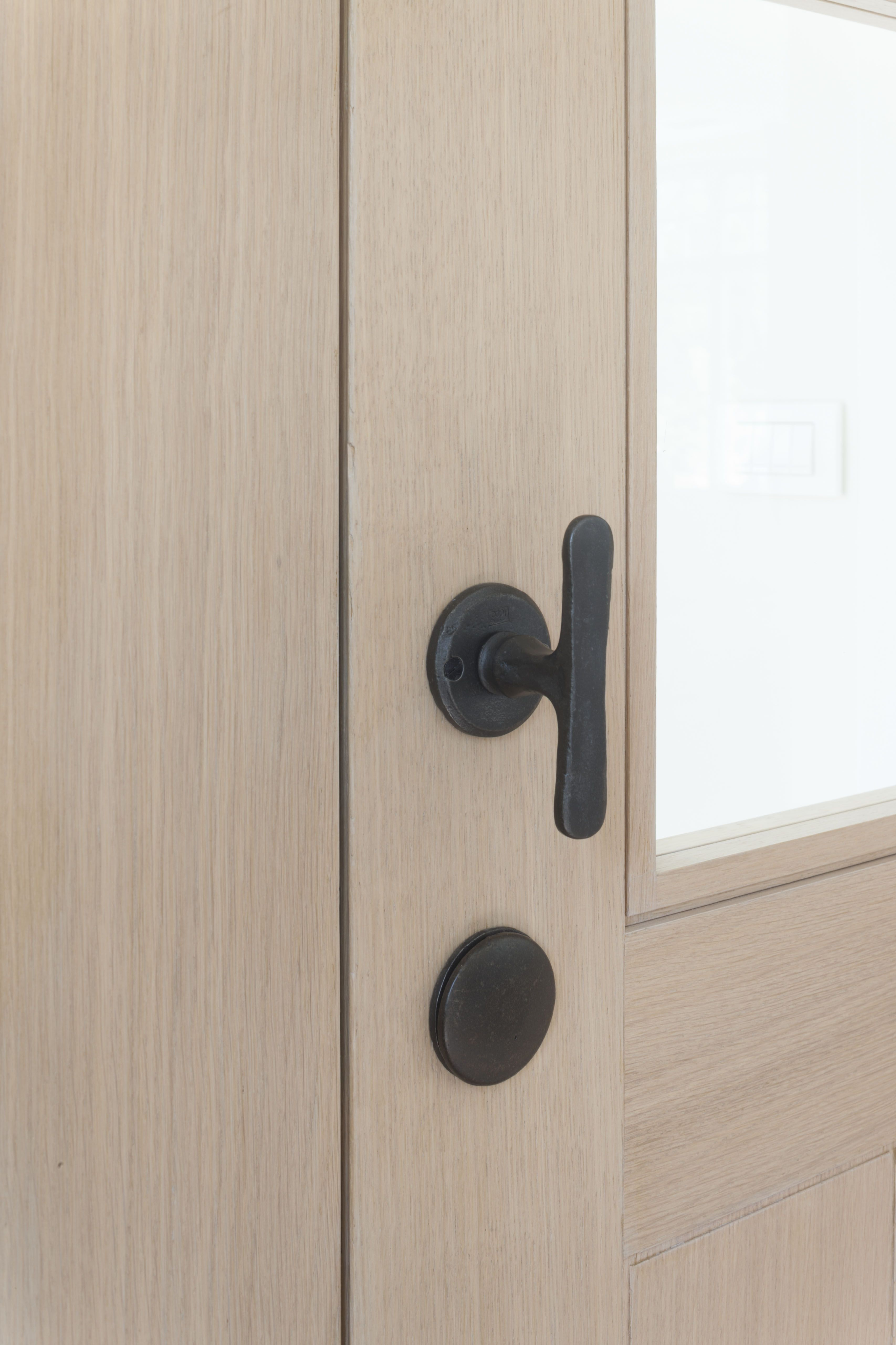 Beau Contemporary Country Door Furniture By Dauby   Pure : Model PhT Available  In White Bronze And Aged Iron