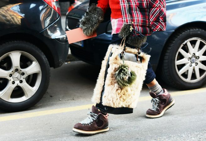 Tommy Ton Shoots Street Style at the Fall 2014 Men's Shows