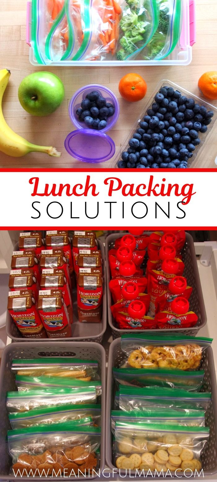 Lunch Packing Solution for Kids images