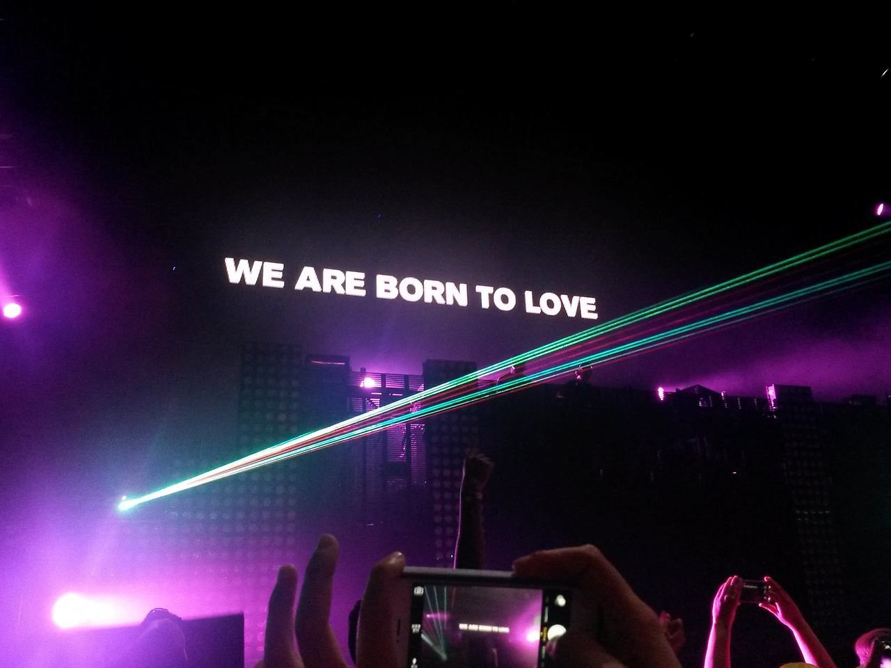 Above & beyond  Nov, 1st 2013 SF  Their set that night was so fucking beautiful