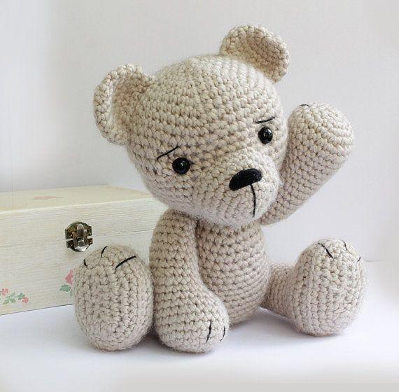 PATROON: Bear-teddy Amigurumi dragen van Anatillea op Etsy | ami1 ...