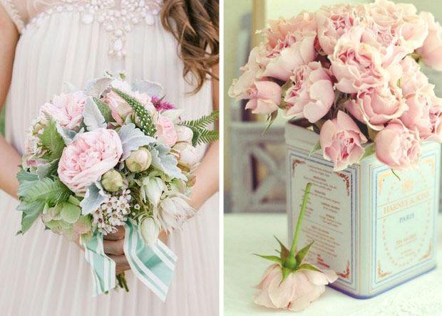 wedding flower powder pink - Szukaj w Google