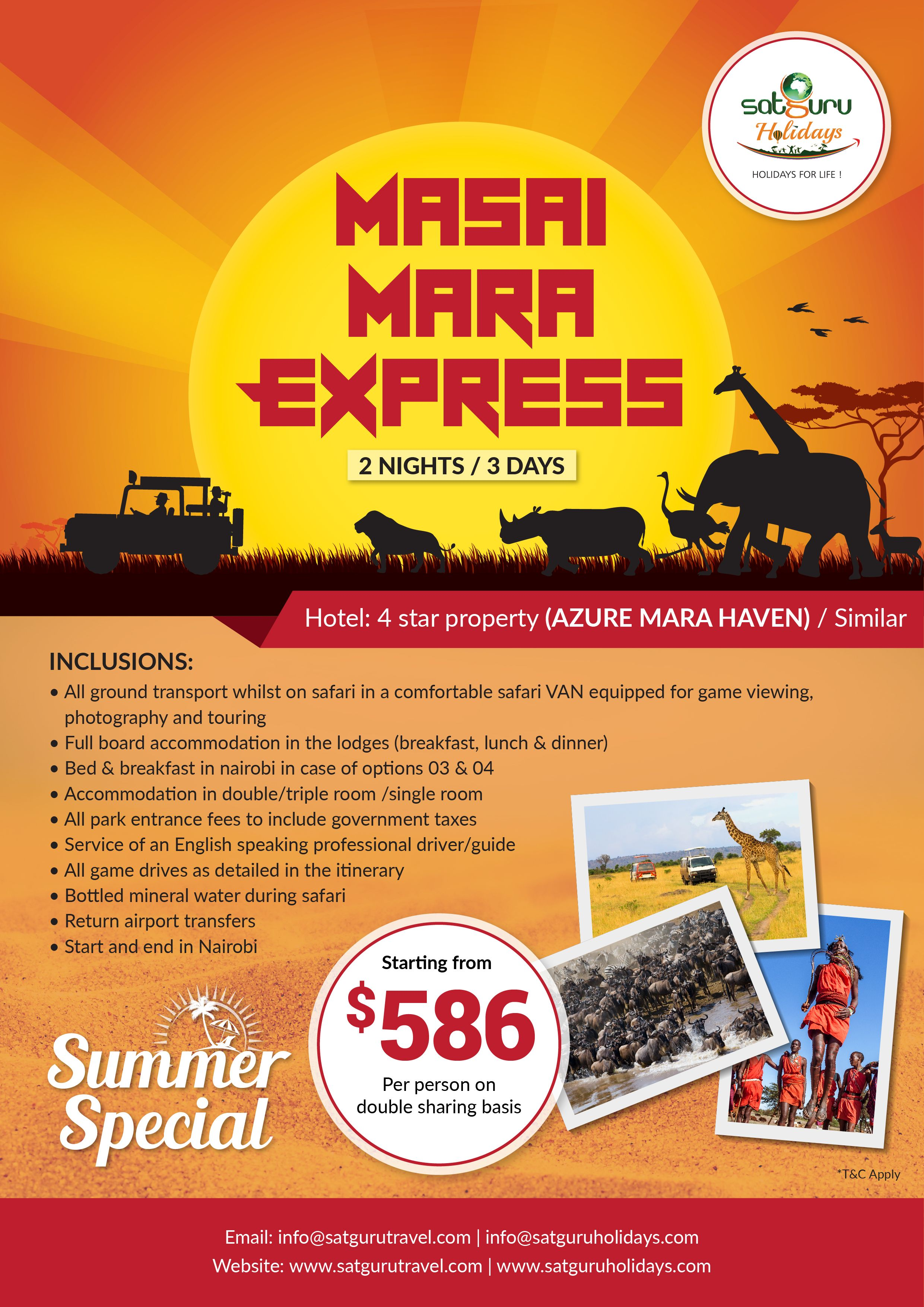 africa  Travel management Best holiday deals Days hotel