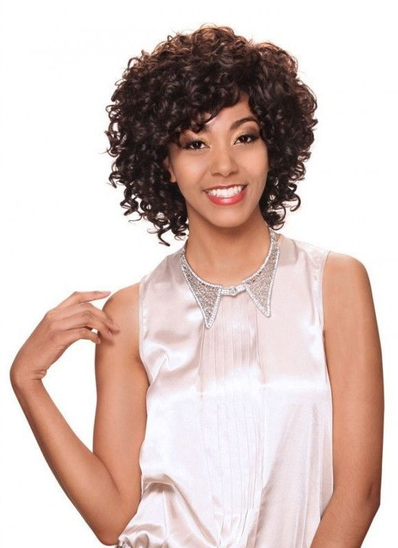 100% Brazilan Remy Human Hair Lace Front Wig by Zury Sister. Bleach, Dye, and Perm Friendly! Medium in length and curly in style! Soft to the touch. Go wild with your own style!