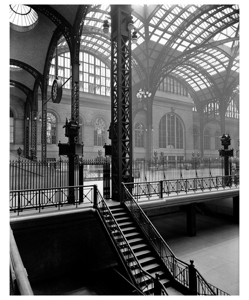 Berenice Abbott Pennsylvania Allomas Manhattan New York 1936 Berenice Abbott Berenice City Architecture