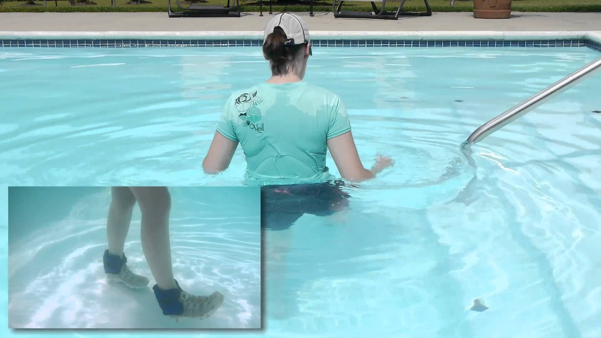 Basic Walking Exercises In A Pool Aquatic Therapy Doctor Jo Shows You Some Basic Aquatic