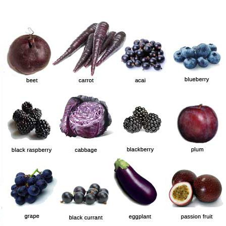 Blue And Purple Fruits And Vegetables Google Search Purple Vegetables Eat The Rainbow Purple Food