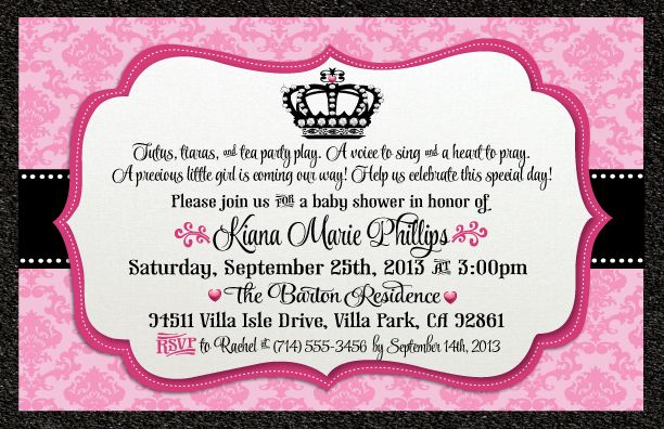 Make Homemade Baby Shower Invitation Wording Ideas Bagvania