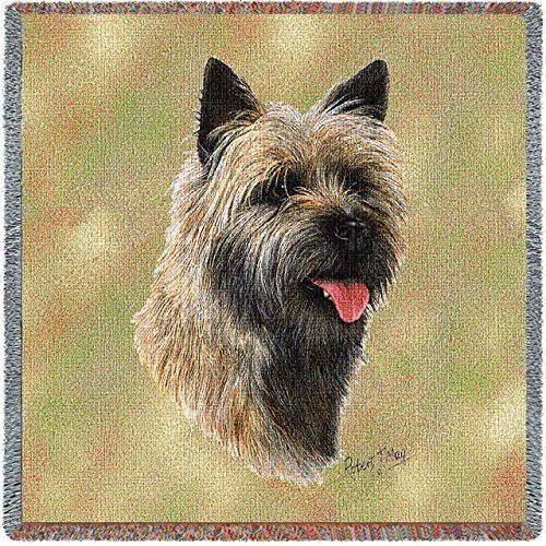 Pure Country 2356ls Cairn Terrier Ii Lap Square Pet Blanket Canine