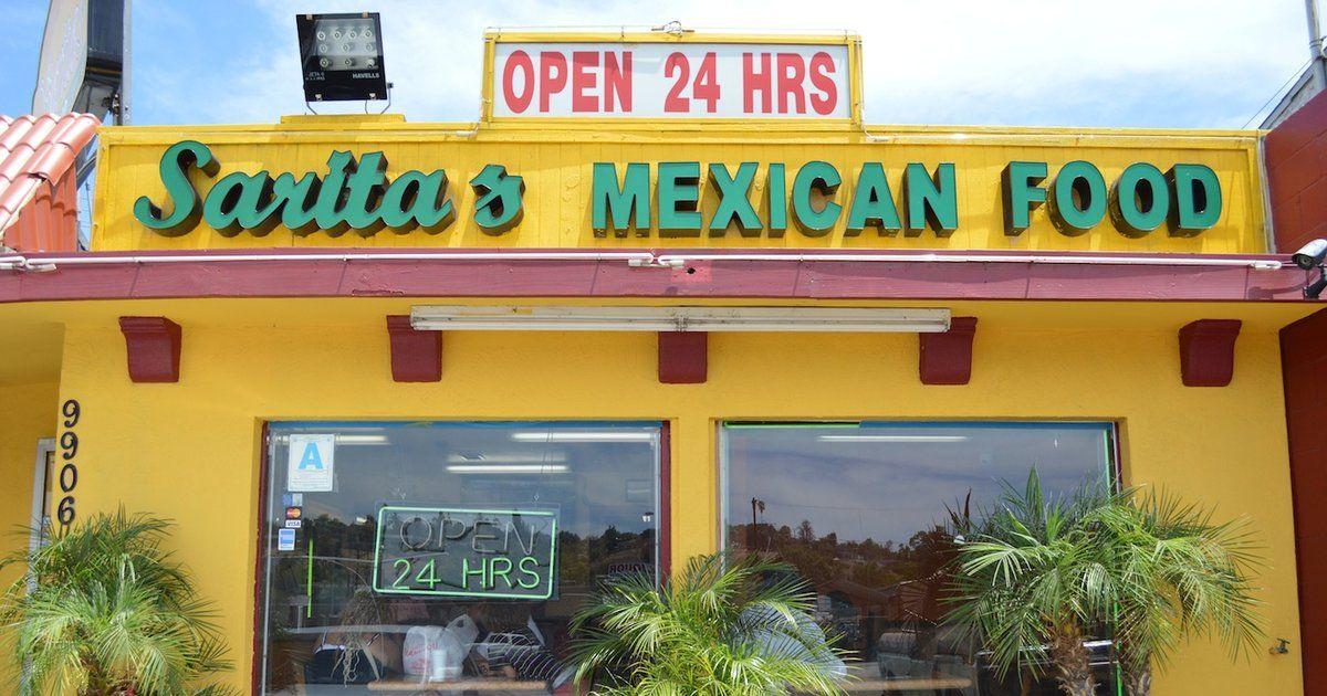 Sarita's Mexican Food Mexican food recipes, San diego