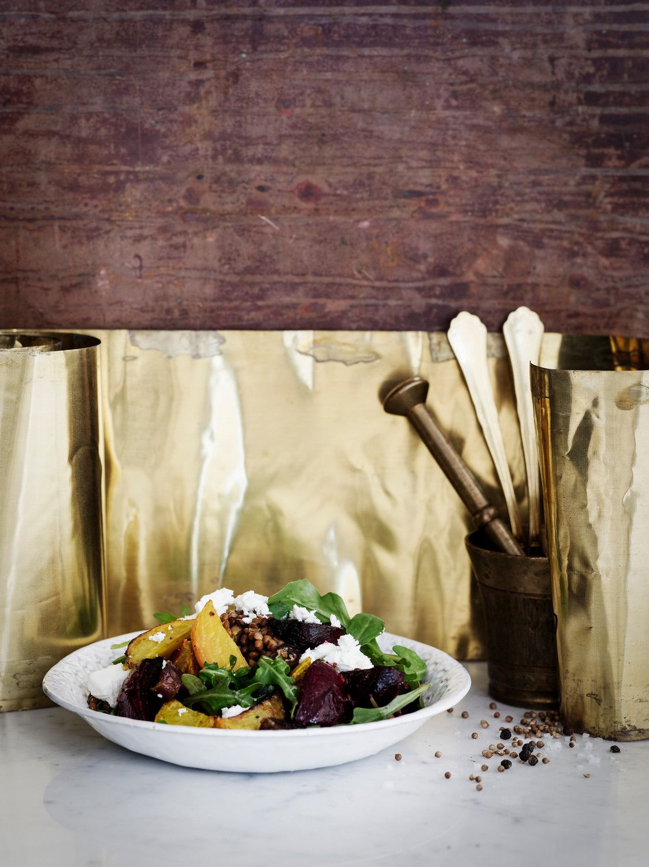 Punajuuri-linssisalaatti | K-Ruoka