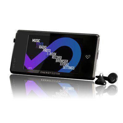Energy Sistem Energy 6030 2.8-inch 8GB MP5 Video PMP Player – Shiny Black