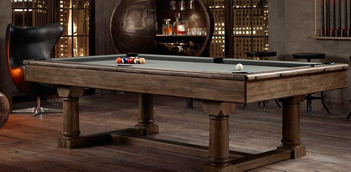 Game Tables Restoration Hardware Outside Pinterest Game - Restoration hardware pool table